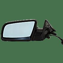Mirror - Driver Side, Power, Heated, Folding, Paintable, For Sedan
