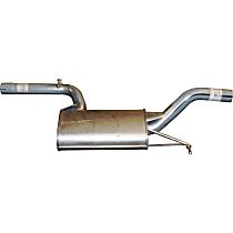 Bosal 233-169 Resonator - Aluminized Steel, Direct Fit, Sold individually