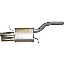 Bosal 233-171 Resonator - Aluminized Steel, Direct Fit, Sold individually