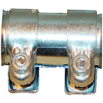 Exhaust Clamp - Direct Fit, Sold individually