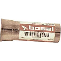Bosal 325-209 Tail Pipe - Natural, Aluminized Steel, Direct Fit, Sold individually
