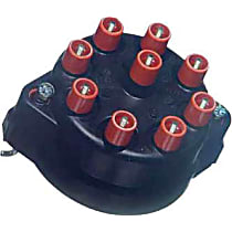 03120 Distributor Cap - Black, Direct Fit, Sold individually