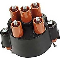 03182 Distributor Cap - Black, Direct Fit, Sold individually