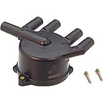 03192 Distributor Cap - Black, Direct Fit, Sold individually