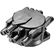 03210 Distributor Cap - Black, Direct Fit, Sold individually