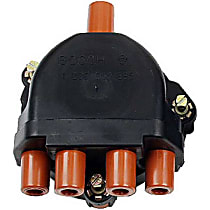 03213 Distributor Cap - Black, Direct Fit, Sold individually