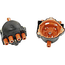 03215 Distributor Cap - Black, Direct Fit, Sold individually