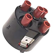 03368 Distributor Cap - Black, Direct Fit, Sold individually