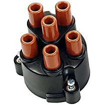 03371 Distributor Cap - Black, Direct Fit, Sold individually