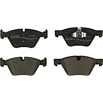 Bosch 0986494117 Brake Pad Set - Replaces OE Number 34-11-6-771-868