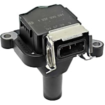 Bosch 1227030081 Ignition Coil without Spark Plug Connector (BOSCH) - Replaces OE Number 12-13-1-703-228