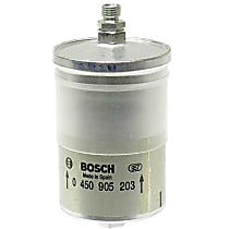 Fuel Filter with Threaded Fittings (75 mm Diameter) - Replaces OE Number 002-477-45-01