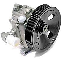 KS01000602 Power Steering Pump (Rebuilt) (112 mm Pulley Diameter) - Replaces OE Number 003-466-64-01 88
