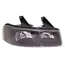 Passenger Side Halogen Headlight, With bulb(s)