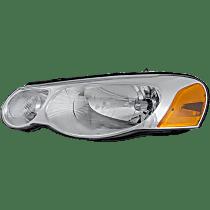 Driver Side Headlight, With bulb(s) - Convertible/Sedan