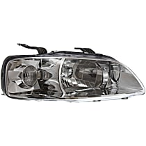 Passenger Side Headlight, With bulb(s) - Hatchback/Sedan Models