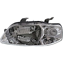 Driver Side Headlight, With bulb(s) - Hatchback/Sedan Models