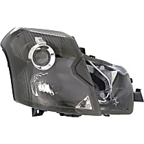 Passenger Side Halogen Headlight, With bulb(s) - Models Without Headlight Leveling