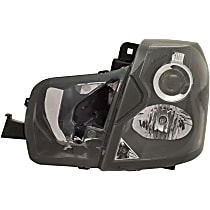 Driver Side Halogen Headlight, With bulb(s) - Models Without Headlight Leveling