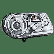 Passenger Side Halogen Headlight, With bulb(s) - C Models