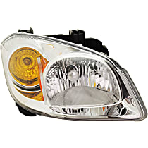 Passenger Side Headlight, With bulb(s) - With Bracket