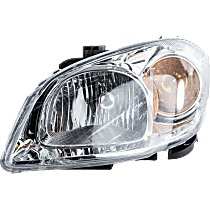 Driver Side Headlight, With bulb(s) - With Bracket