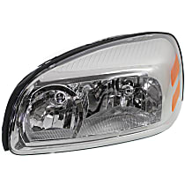 CAPA Certified Driver Side Halogen Headlight, With bulb(s)