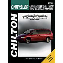 Chilton 20302 Repair Manual - Repair manual, Sold individually