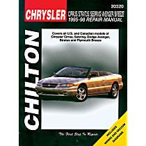 20320 Repair Manual - Repair manual, Sold individually