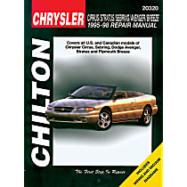 Chilton 20320 Repair Manual - Repair manual, Sold individually