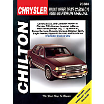 Chilton 20384 Repair Manual - Repair manual, Sold individually