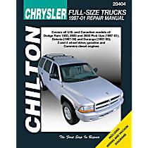Chilton 20404 Repair Manual - Repair manual, Sold individually
