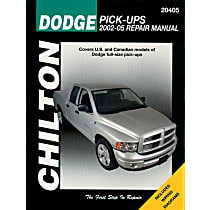 Chilton 20405 Repair Manual - Repair manual, Sold individually
