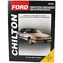 Chilton 26180 Repair Manual - Repair manual, Sold individually