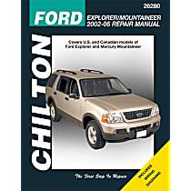Chilton 26280 Repair Manual - Repair manual, Sold individually