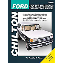Chilton 26664 Repair Manual - Repair manual, Sold individually
