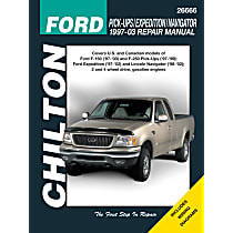 Chilton 26666 Repair Manual - Repair manual, Sold individually