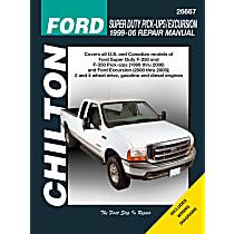 Chilton 26667 Repair Manual - Repair manual, Sold individually
