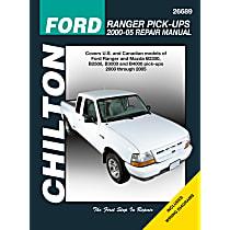 Chilton 26689 Repair Manual - Repair manual, Sold individually