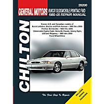 Chilton 28200 Repair Manual - Repair manual, Sold individually