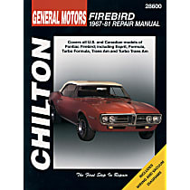 Chilton 28600 Repair Manual - Repair manual, Sold individually