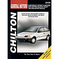 Chilton 28700 Repair Manual - Repair manual, Sold individually