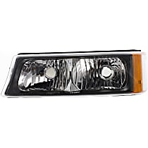 Driver Side Turn Signal Light, Without bulb(s)