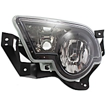 Fog Light Assembly - Driver Side, with Body Cladding