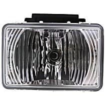 Fog Light - Driver or Passenger Side, Assembly, CAPA Certified