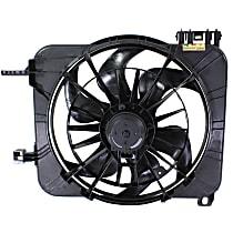 Radiator Fan Shroud Assembly - For Models w/ A/C Manual Controls & Heavy Duty Cooling