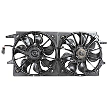 OE Replacement Radiator Fan - Fits 2.2L 4Cyl 3.4L V6 Eng.