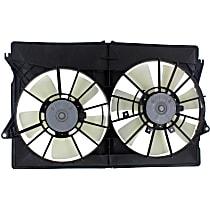 OE Replacement Radiator Fan - 2-Ping Plug