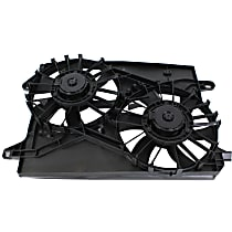OE Replacement Radiator Fan - Dual-type