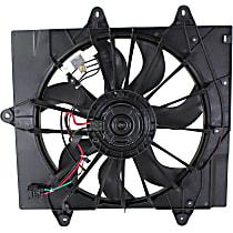 OE Replacement Radiator Fan - Fits 2.4L Turbo, w/ Single Plug